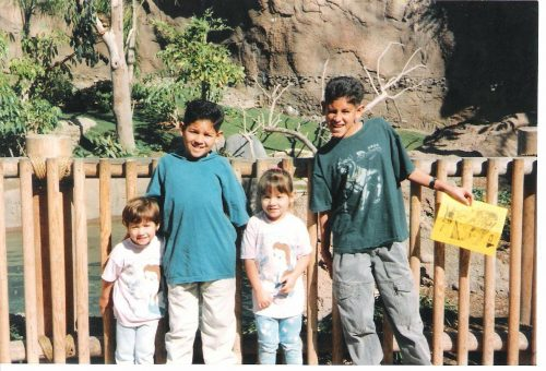 Rudy, Alyssa and their two other siblings