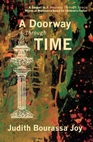 The cover of Judy's book, A Doorway Through Time